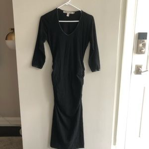 Michael Stars / Anthropologie Black Maxi Dress S